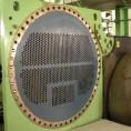 Intercambiador de calor recuperado con aplicación epóxica.
